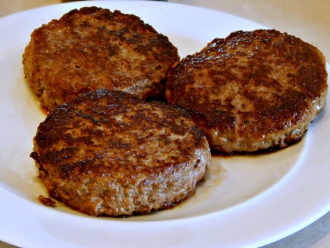 Juicy Lucy - look at this gorgeous crust - it's the salt and cast iron pan!