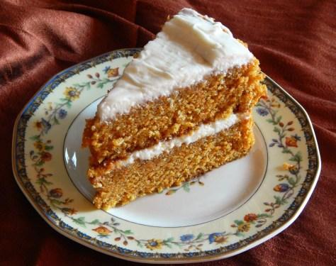 Wayside Inn Carrot Cake https://frugalhausfrau.com/