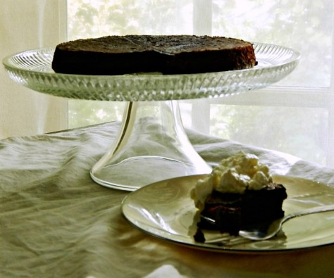flourless chocolate cake gourmet november 1997