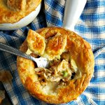 Chicken Pot Pie with Cheater's Puff Pastry