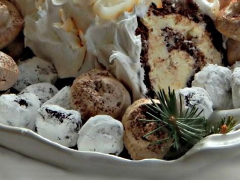 Snowy chocolate truffles - a Martha Stewart Recipe - easy!!