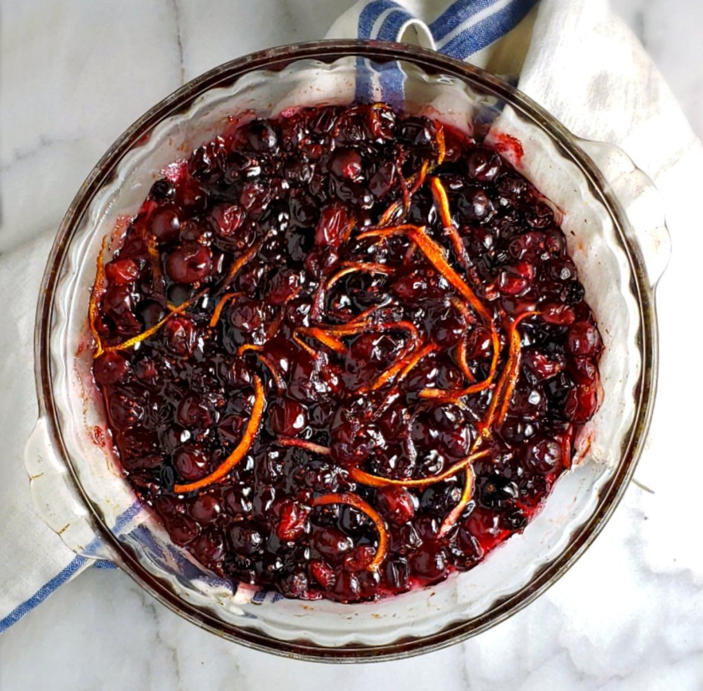 Favorite Cranberry Sauce Citrus Grand Marnier