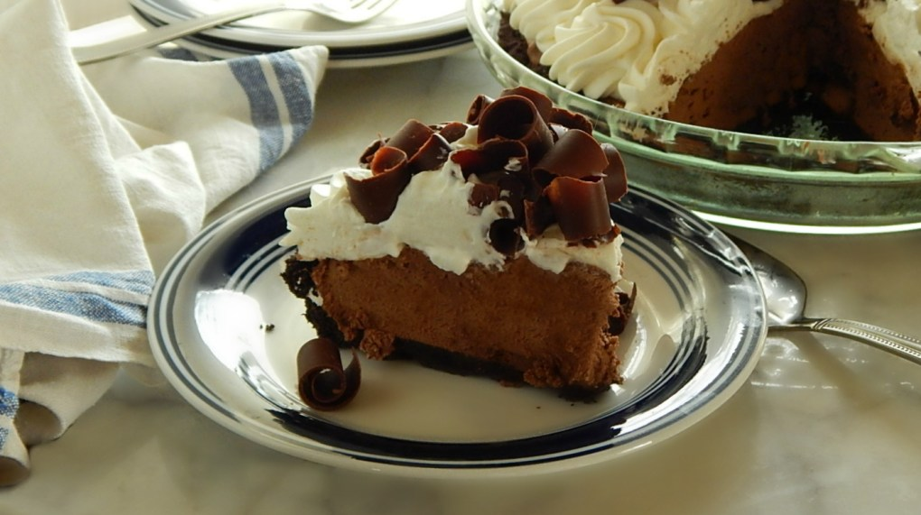 French Silk Pie Stabilized Whipped Cream