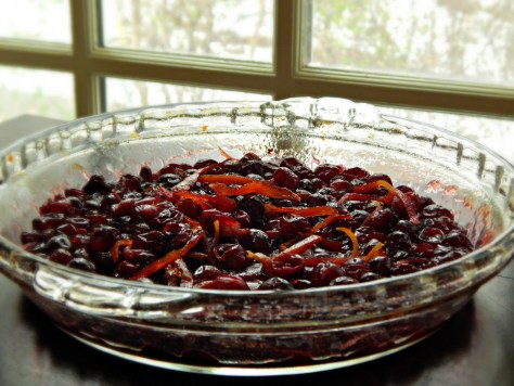 Our Favorite Cranberry Sauce, adapted from Bon Appetit
