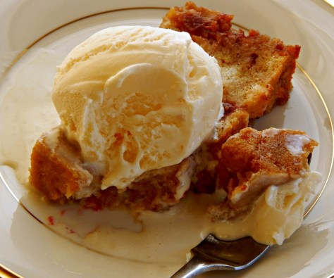 Cranberry Bread Pudding by Emeril Lagasse