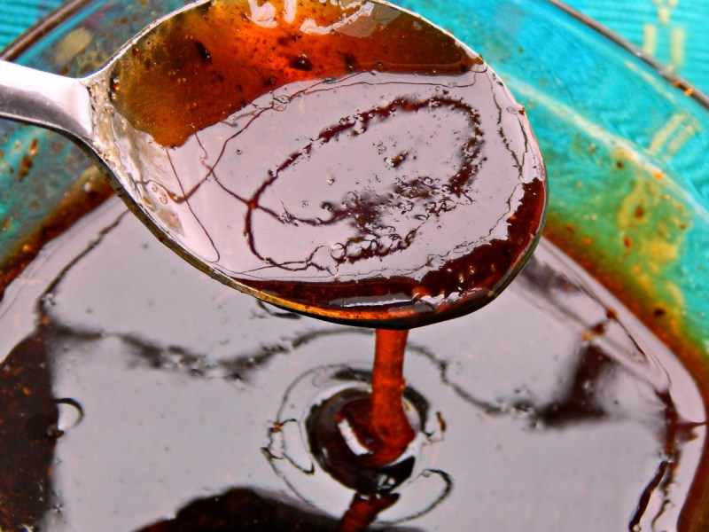 Cajun Gastrique intense cajun flavor vinegar caramel