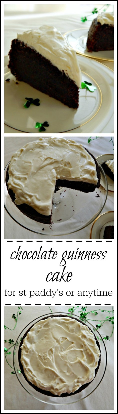 Nigella's Chocolate Guinness Cake - easy & great anytime!