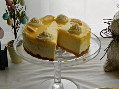 Lemon Curd Mousse Cake