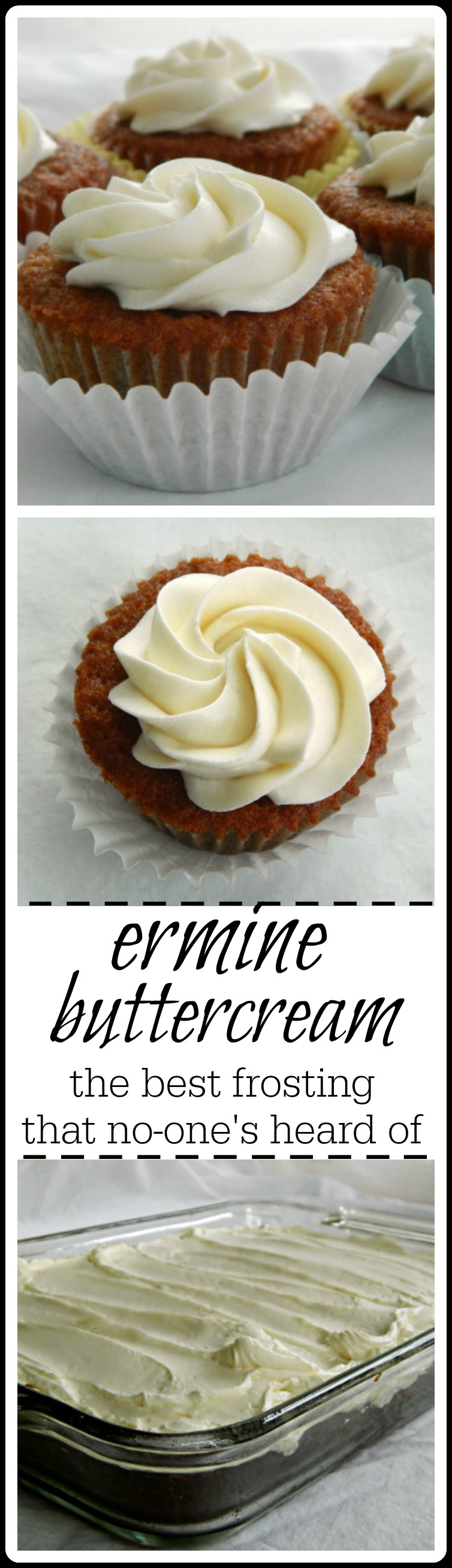 Of all the buttercreams, Ermine Buttercream is the real favorite at our house. You might know it as flour-based or pudding based. It's silky, smooth, substantial yet light. It's also the original frosting for Red Velvet Cake. I love Ermine Buttercream because it's not too too sweet. #Buttercream #Ermine Buttercream #Red Velvet Cake Frosting