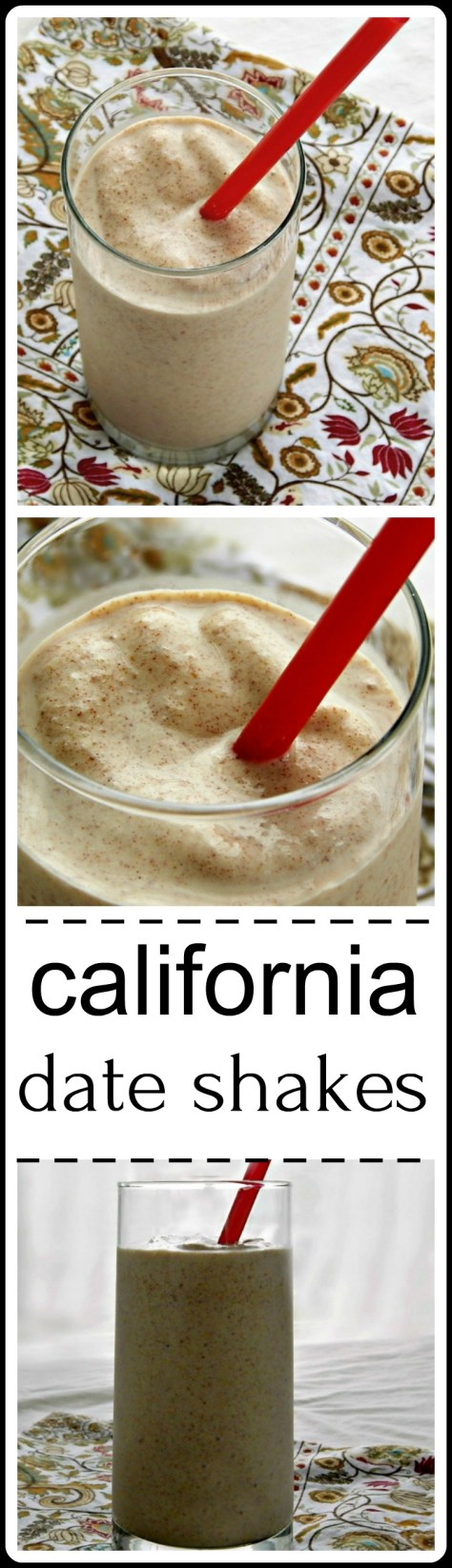 California Date Shakes - I know they sound a little weird if you didn't grow up with them, but they are AMAZING!