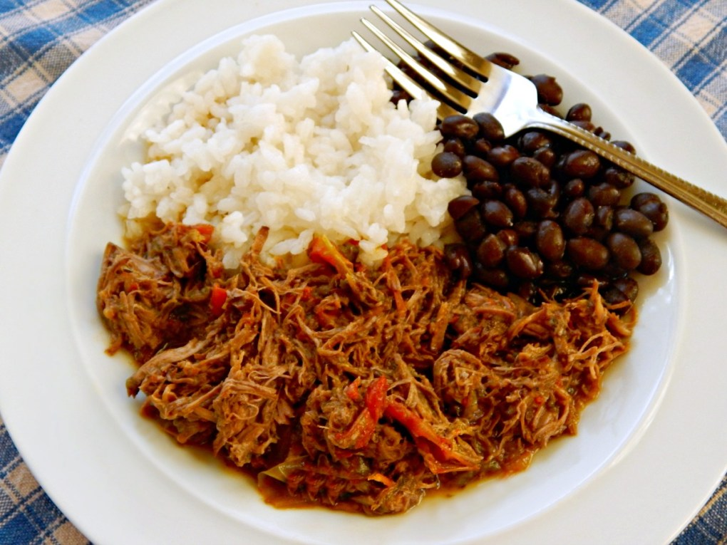 Cuban Ropa Vieja - Shredded Beef