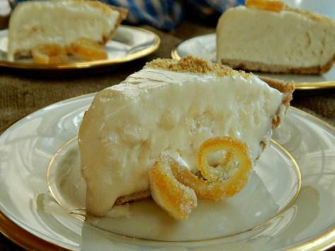 Frozen Lemonade Pie frozen lemon concentrate, condensed milk, cool whip