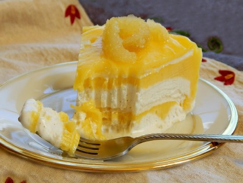 Frozen Lemon Meringue Cake