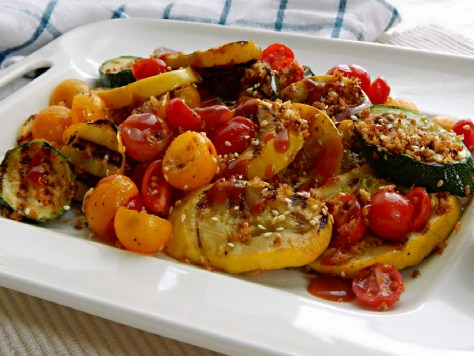Grilled Vegetables with Asian Flair