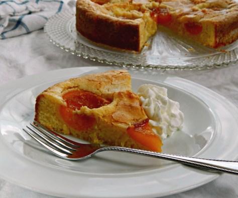 Orange Apricot Snack Cake