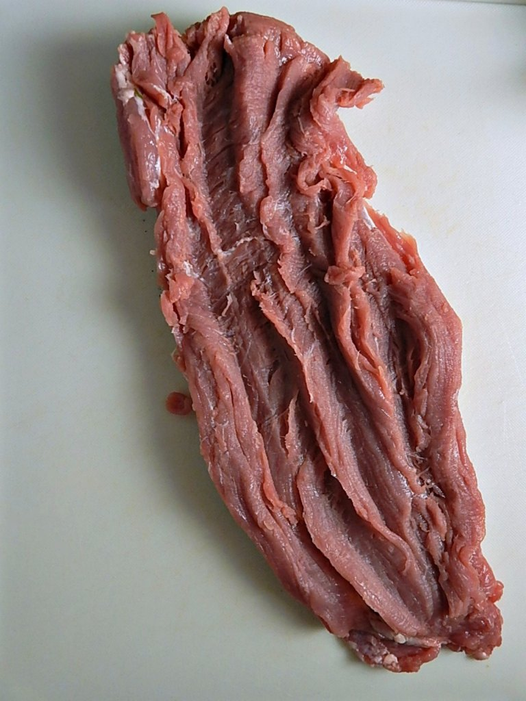 Bacon, Dried Cherry & Caramelized Onion Stuffed Pork Tenderloin