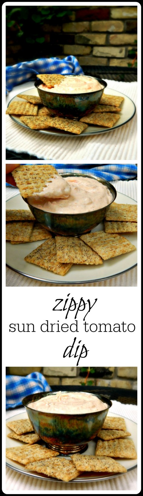 Sun Dried Tomato Dip - so simple and so good!