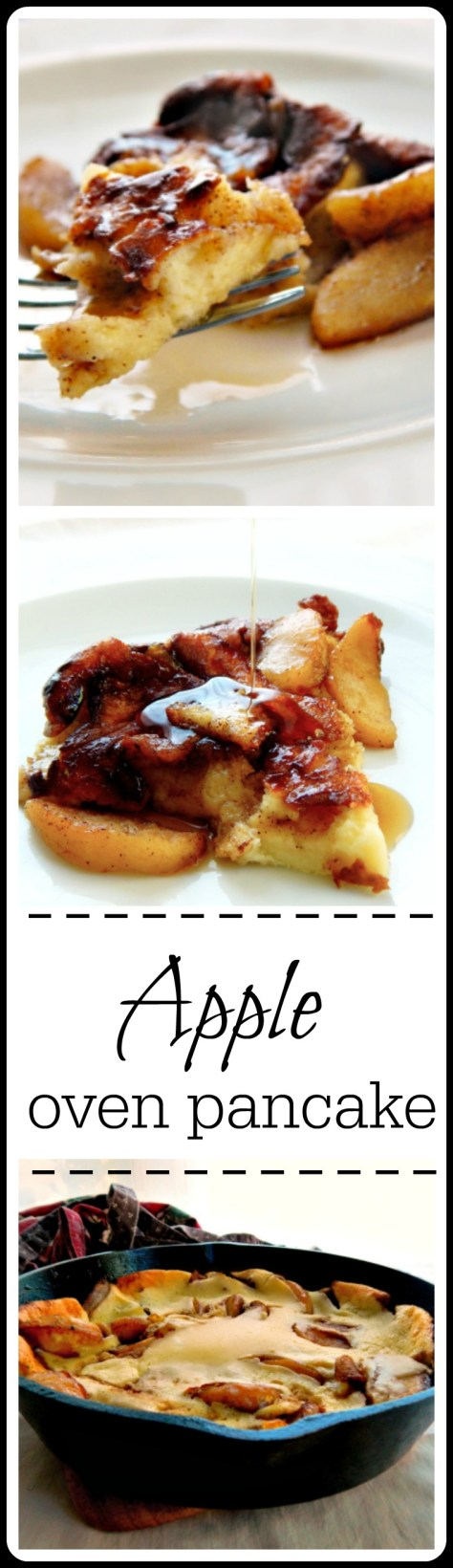 Apple Oven Pancake - so quick and easy to make it's hard to believe they're so fantastic!