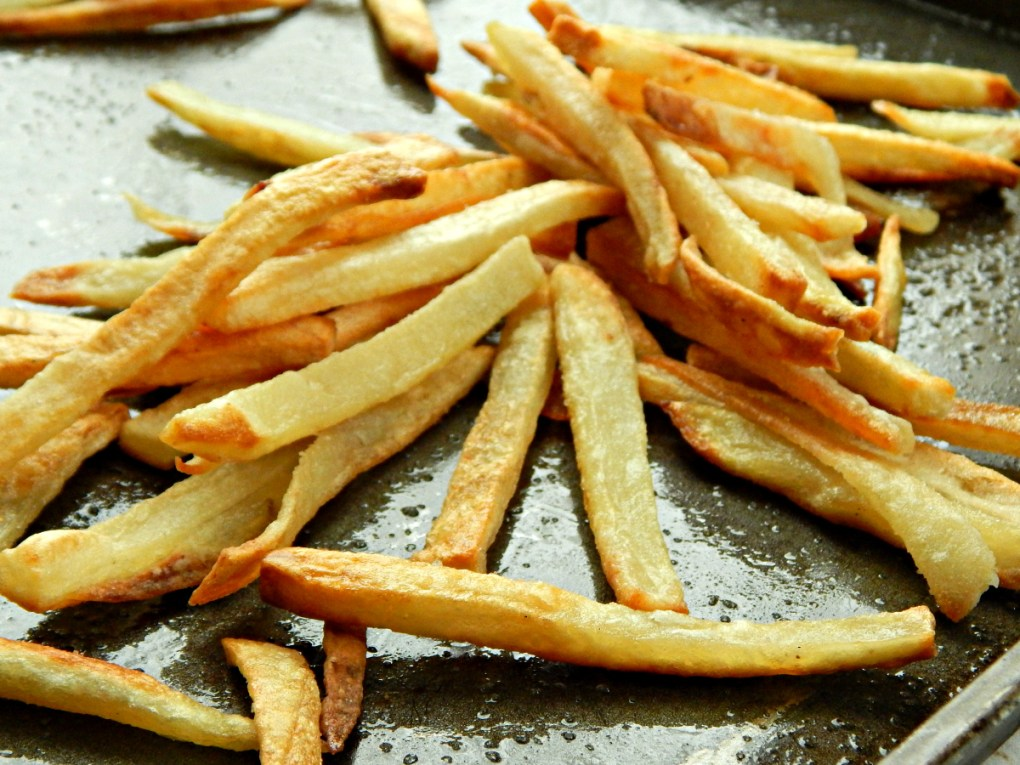 Stupid Simple French Fries great oven baked fries!