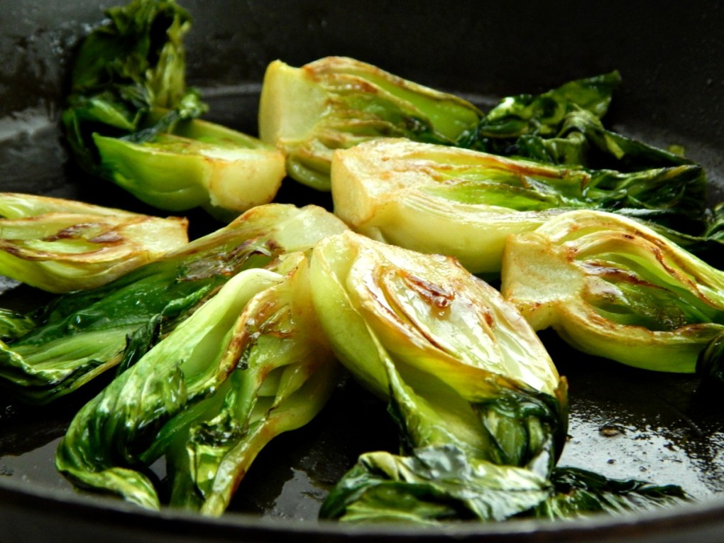 Baby Bok Choy with Sesame