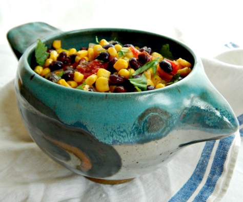 Roasted Corn & Black Bean Salsa