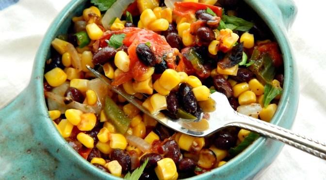 Roasted Corn & Black Bean Salsa