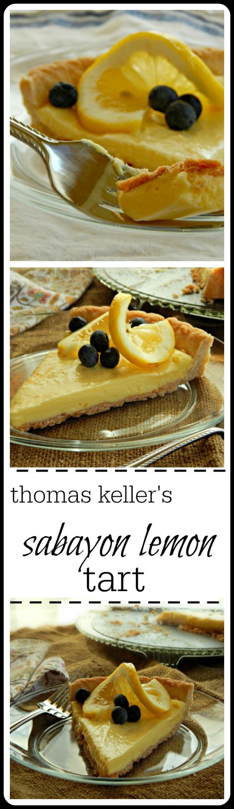 Light and fluffy, creamy & dreamy this tart takes a LOT of whisking - but it is soooo worth the work. Adapted from Chef Thomas Keller