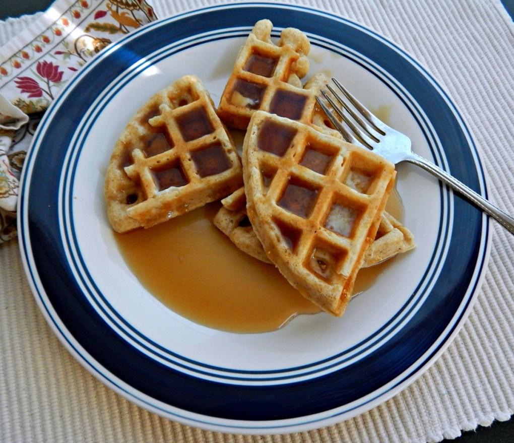 Alton Browns Really Good Waffles