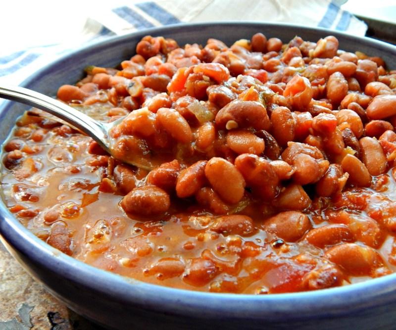 cowboy beans frijoles charros instant pot