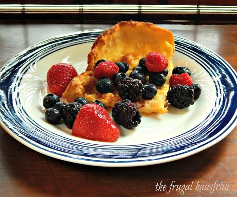 David Eyre's Pancake Puffy Pancake