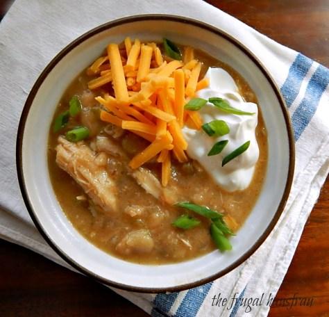 Easy White Chicken Chili