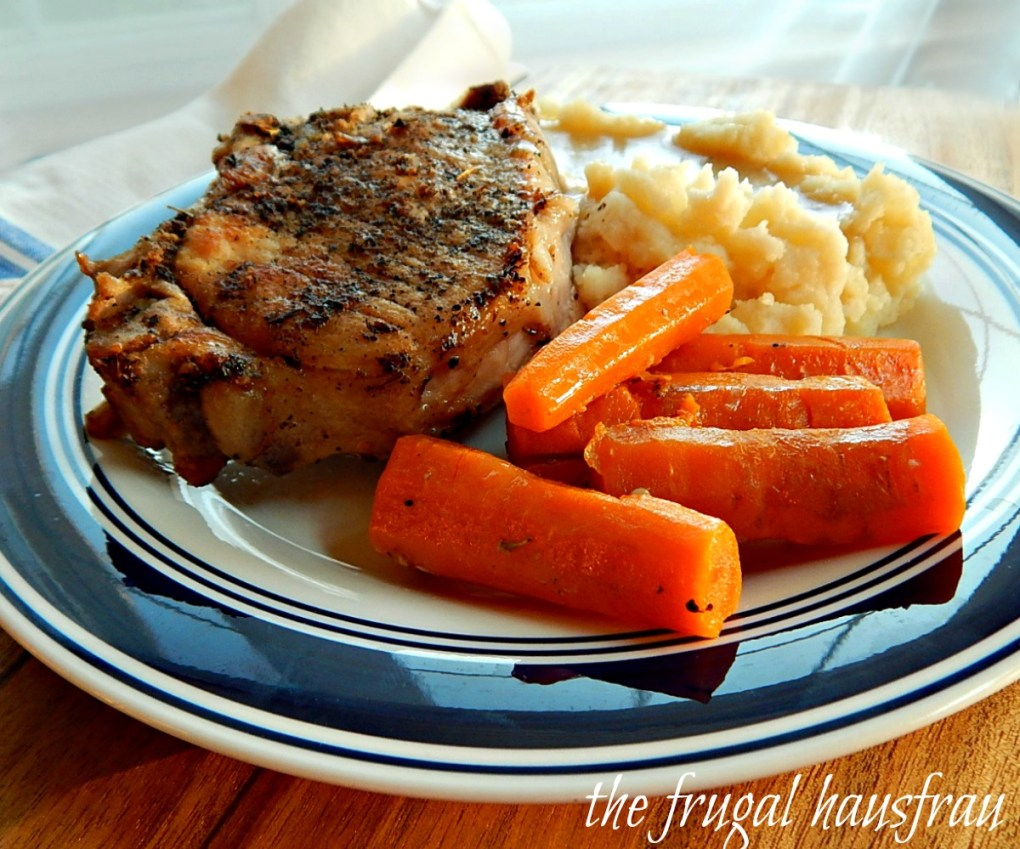 Instant Pot Pork Chop One Pot Meal Pork Chops, Mashed Potatoes, Gravy & Carrots