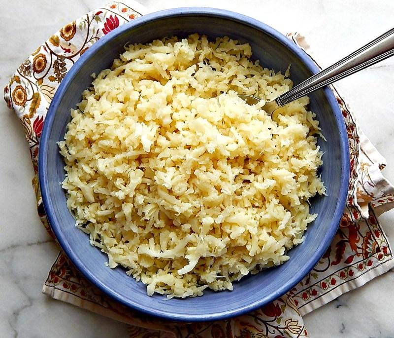Instant Pot Cauliflower Rice