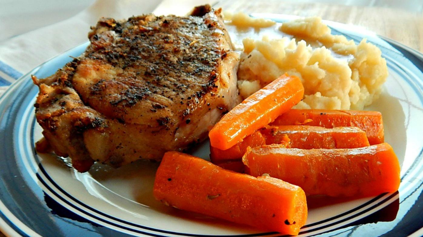 Instant Pot Pork Chop One Pot Meal