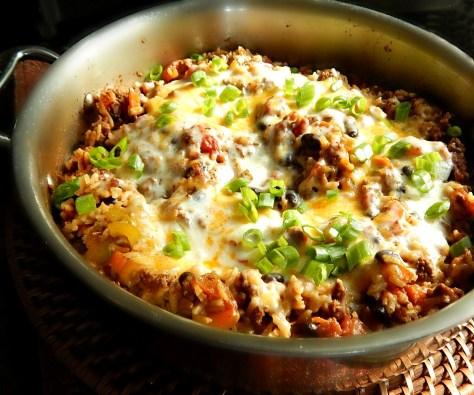 Easy Taco Skillet Dinner