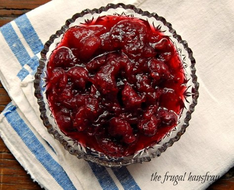Cranberry Sauce with Apple and Port Instant Pot or Stove-top