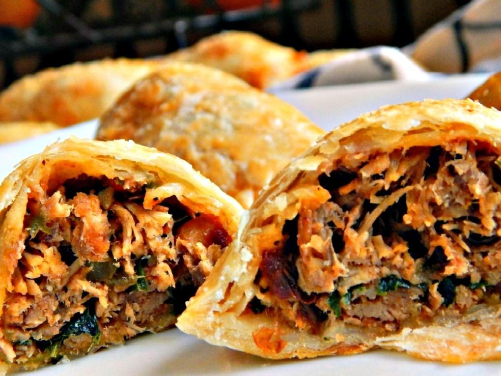 Chipotle Pulled Pork Empanadas