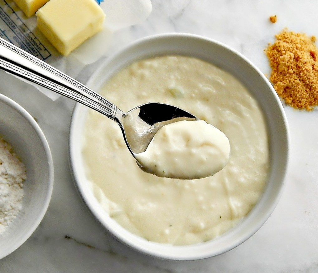 Cream of Anything Soup, Home-made Cream of Chicken Soup Substitute for a can of Condensed Cream of Chicken