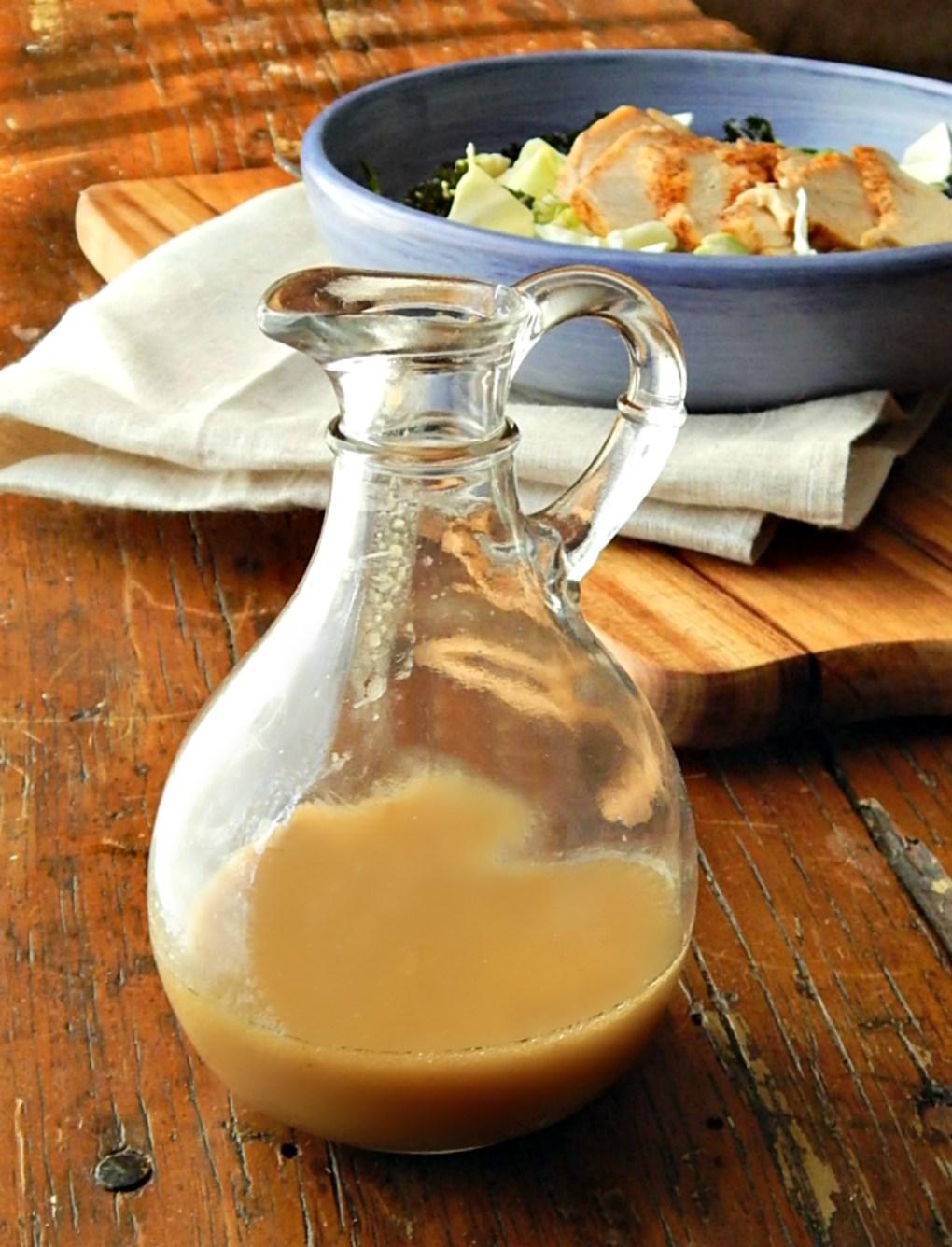 Lemon Tahini Salad Dressing