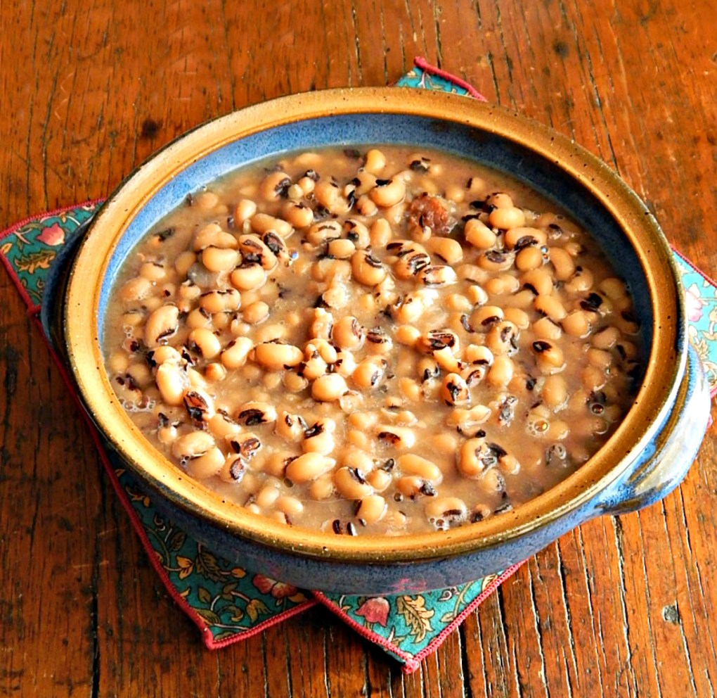 Black-Eyed Peas Instant Pot, Slow Cooker or Stove-Top