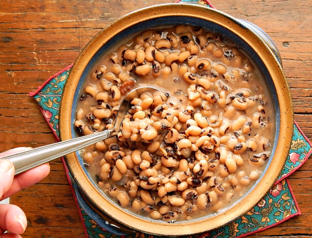 Black-Eyed Peas Instant Pot or Stove-Top