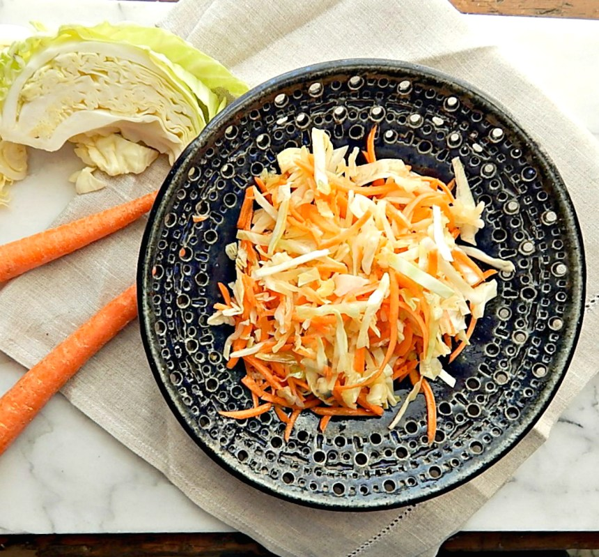 Carrot & Cabbage Slaw