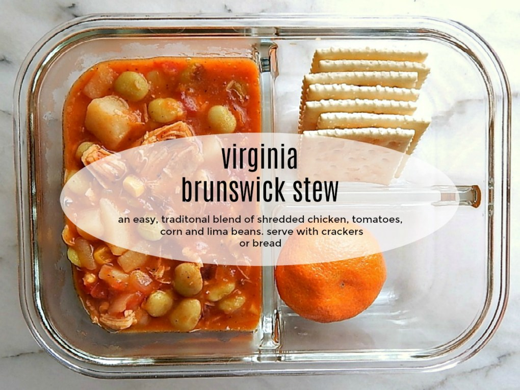 Virginia Brunswick Stew Meal Prep