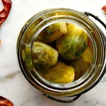 Zesty Pickled Brussels Sprouts