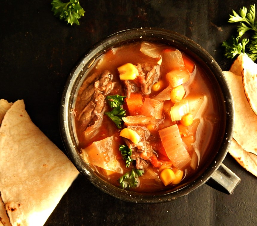 Shortcut Caldo de Res Mexican Beef Soup