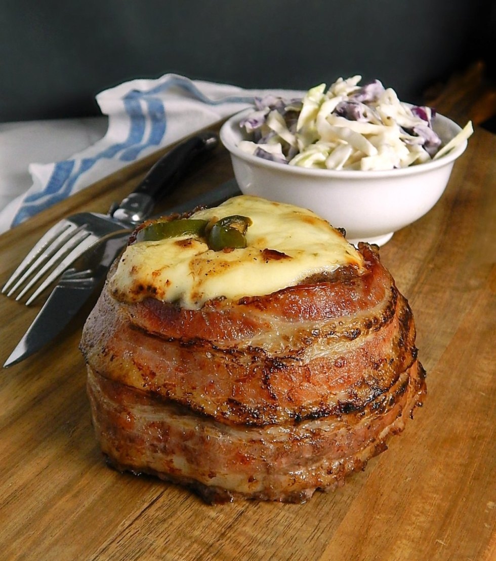 Beer Can Burgers- this one is Jalapeno and Pepperjack Cheese