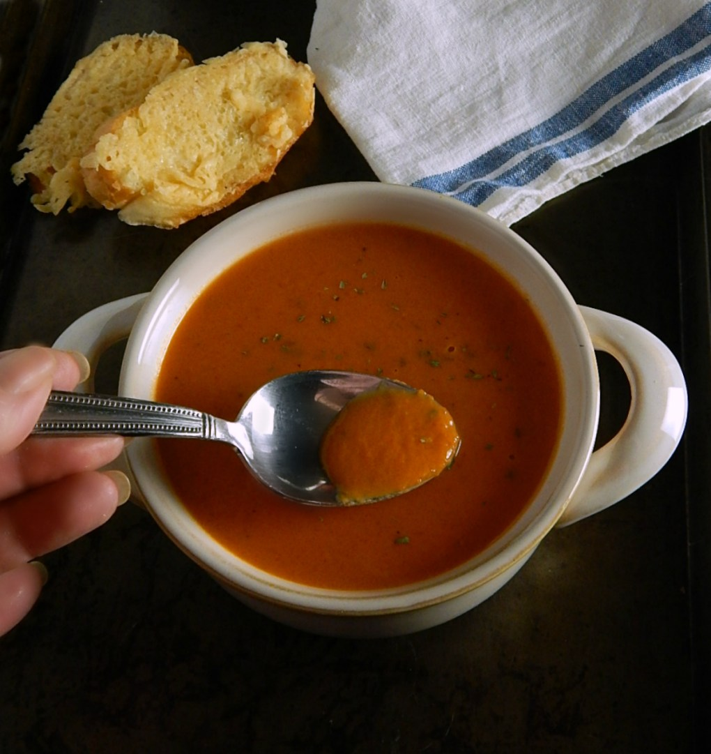 Simple Tomato Soup Instant Pot or Stovetop
