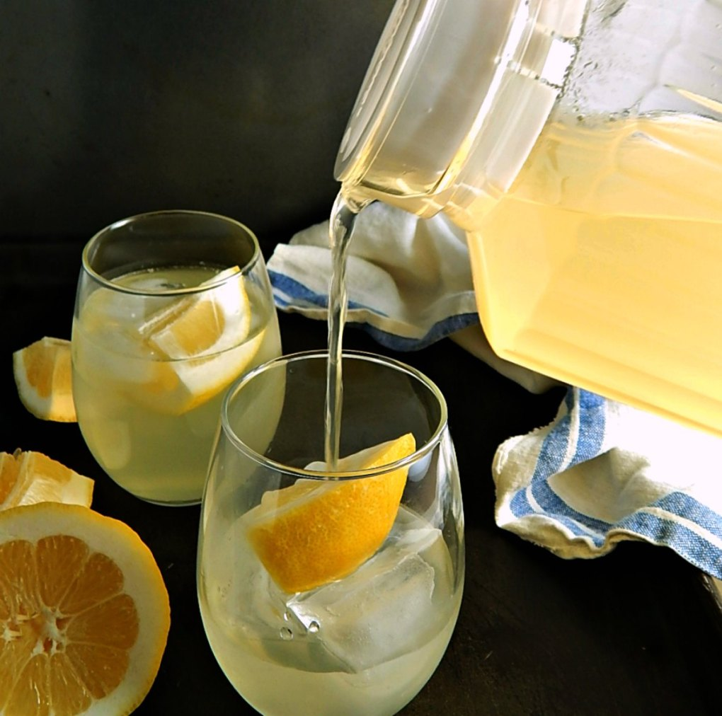 Healthy Lemon Ginger Barley Water
