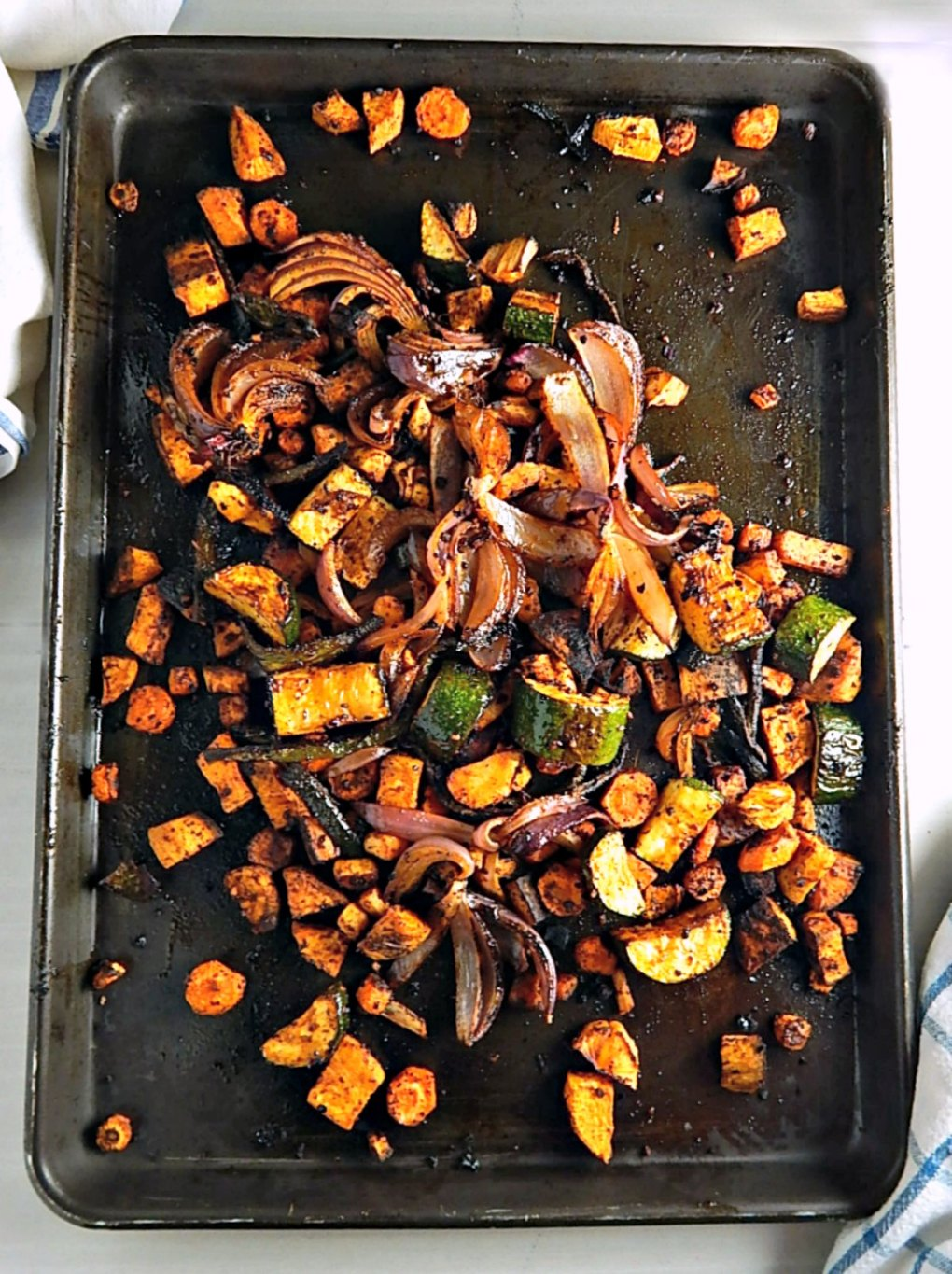 Smoky Roasted Sheet Tray Vegetables