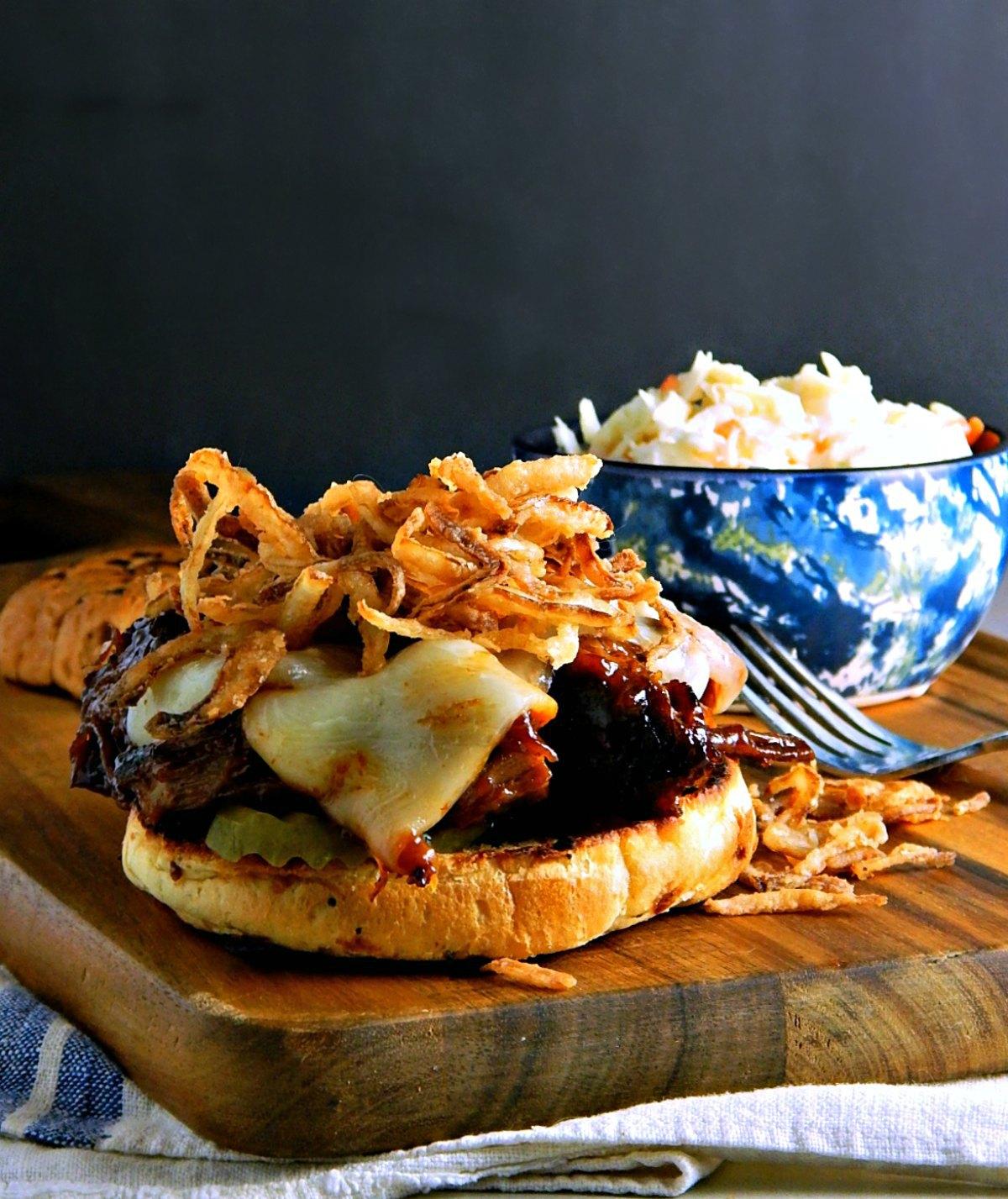 Bourbon Barbecue Pot Roast Sandwich